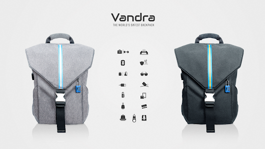 Introducing Vandra - The world's safest backpack