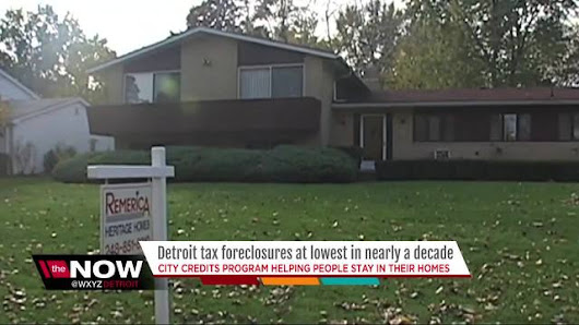 Tax foreclosure rates in Detroit drop to lowest level in 10 years