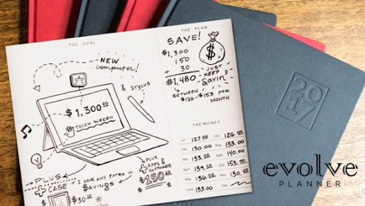 Evolve Planner - Top Budgeting Tool for The New Year - Beltway Bargain Mom | Washington DC Northern VA Deals and Coupons