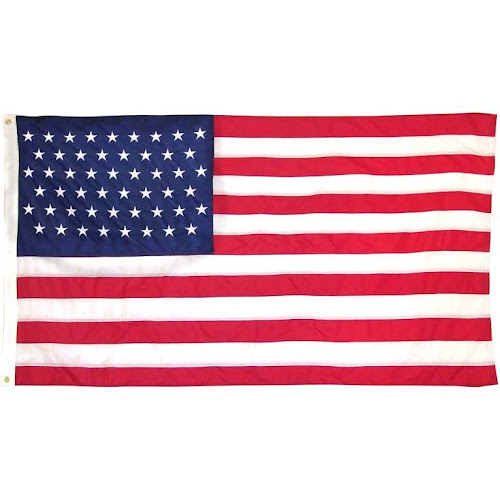 Valley Forge 51 Star American Flag 3ft x 5ft Sewn Nylon