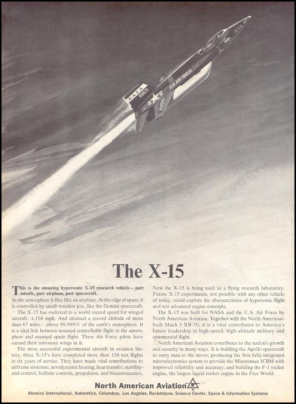 X-15 RESEARCH VEHICLE TIME 03/11/1966 p. 86