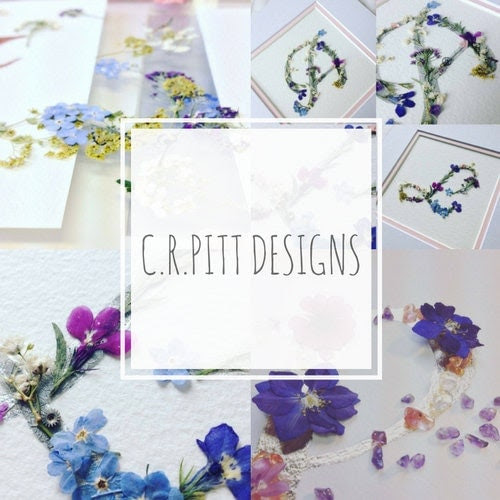 Personalised Letters, Numbers and Mixed Media pieces by CRPittDesigns