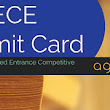 BCECE 2016 Admit Card – Download Hall Ticket