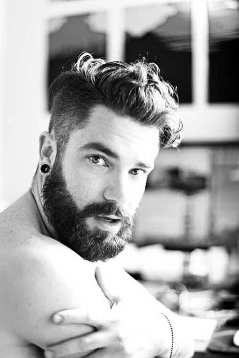 Trendy Mittlere Länge Frisuren Für Dicke Lockige Haare Bei Männern