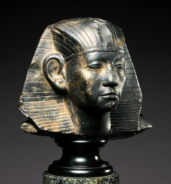 Head of a Statue of Amenemhat III