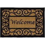 Ottomanson OTH2232 Non Slip Welcome Doormat