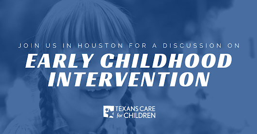 ECI Texas - Parents of Babies / Children in ECI - Interesting Event in Houston