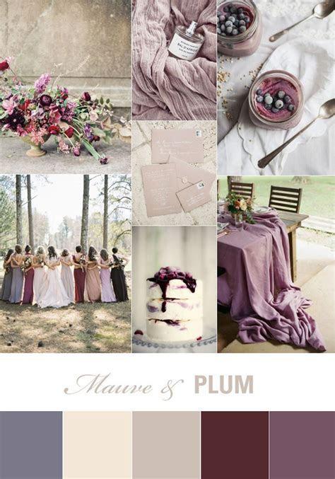 Mauve and Plum Wedding Inspiration   Flies away, Wedding