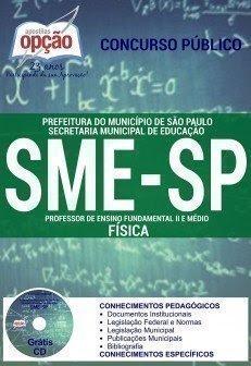 apostila concurso PROFESSOR DE FÍSICA sme-sp.