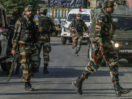 3 terrorists gunned down in Kashmir's Budgam district | India News - Times of India