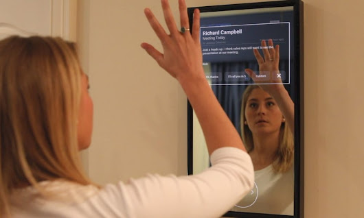 Talk to the Picture or Wave to the Mirror, Daptly Launches Interactive Digital Assistant for IoT