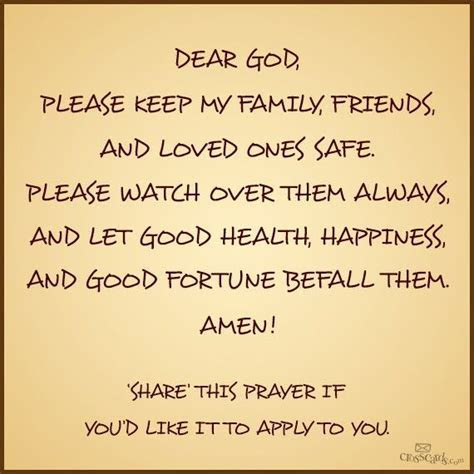 Prayers For My Friends And Family Quotes