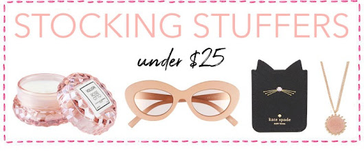 Pretty Little Things! Stylish Stocking Stuffers For Her (All under $25)