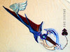 3931 - Kingdom Hearts 2 - Riku's keyblade
