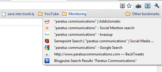 monitoring folder 2 520x231 How to monitor social media mentions in five minutes a day
