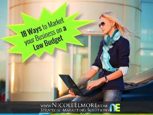 18 Ways to Market your Business on a Low Budget
