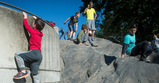 Cheap Fun in Central Park: Scaling Rat Rock - The New York Times
