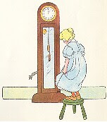 THE MOUSE AND THE CLOCK