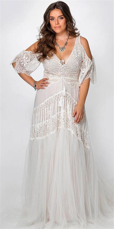 Trubridal Wedding Blog   21 Amazing Boho Wedding Dresses