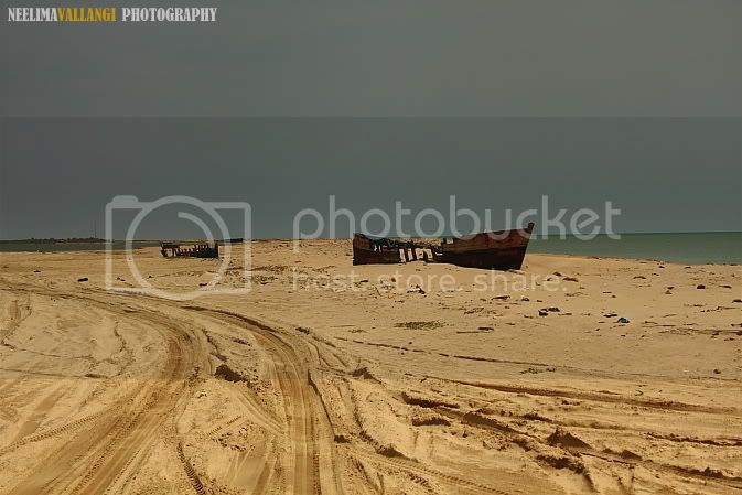 Wreckage at Dhanushkodi