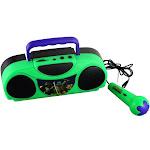Nickelodeon 16365 Teenage Mutant Ninja Turtles Portable Radio Karaoke Kit with Microphone