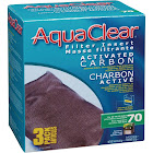 AquaClear 70 Filter Insert Activated Carbon, 3pk,