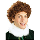 Rubies Buddy The Elf Adult Wig, Brown/Red, Adult Unisex - One Size