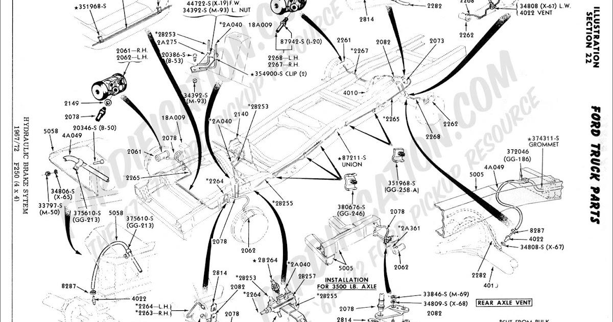 2006 Ford Taurus Brake Line Diagram