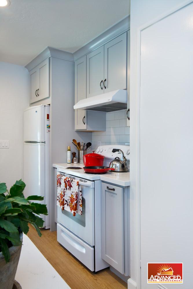 Charming Small Kitchen Remodeling - San Jose - Advanced ...