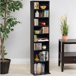 Atlantic Summit Media Storage Cabinet, Espresso