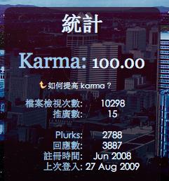 Karma:100.00