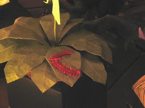 Origami centipede