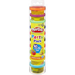 Play-Doh Party Pack - 10 cans, 1 oz each