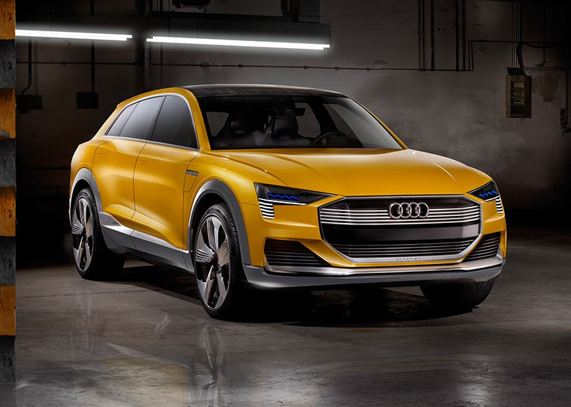 AUDI explores hydrogen fuel cells with h-tron quattro concept at NAIAS 2016