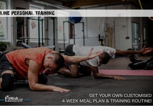 Online Personal Training | Get Your Customised Meal Plan & Training Routine! - FitNish.com
