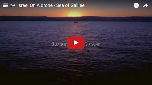 Video: Israel on a Drone: Sea of Galilee - Israel365