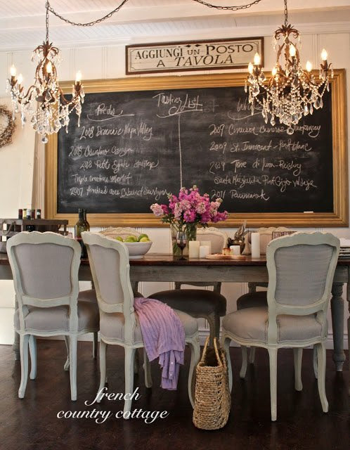 TIDBITS & TWINE French Country Cottage Dining Room