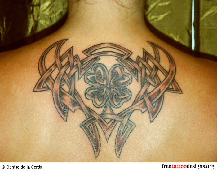 77 Irish Tattoos Shamrock Clover Cross Claddagh Tattoo Designs