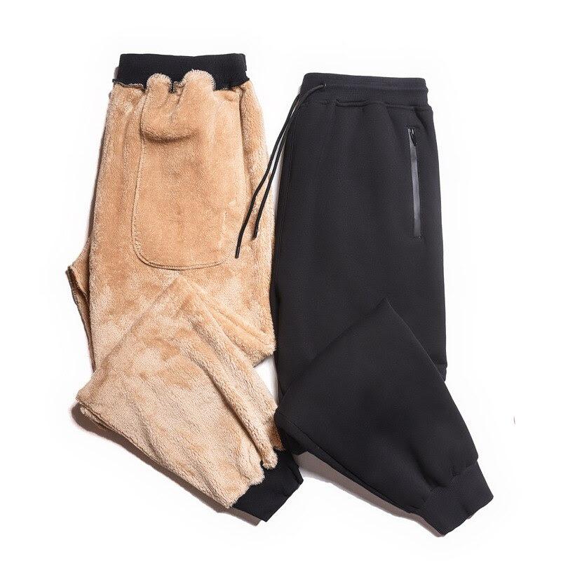 Men plus size xxl-6xl black men pants men loose casual pants plus size autumn and winter pants
