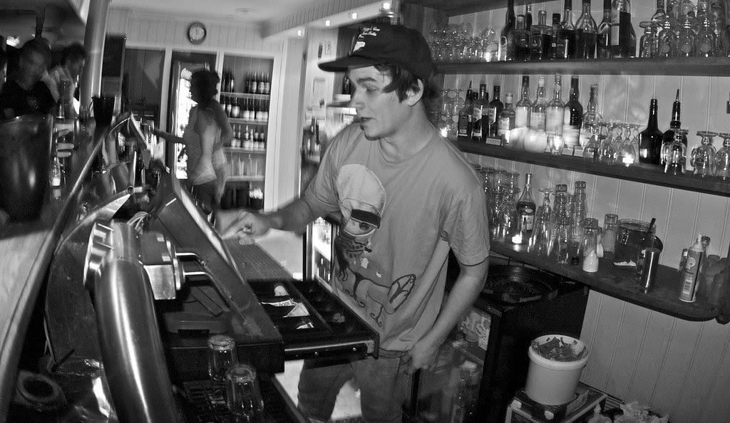 Catching and Killing: Yo bartender!