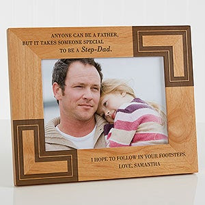 A Special Step Dad Personalized Frame 5 X 7 Picture Frames