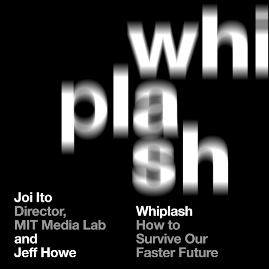Book Talk at The Harvard Book Store about Whiplash with Co-Author Jeff Howe - Joi Ito's Web