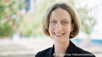 Katharina Jeschke Präsidiumsmitglied im Deutschen Hebammenverband