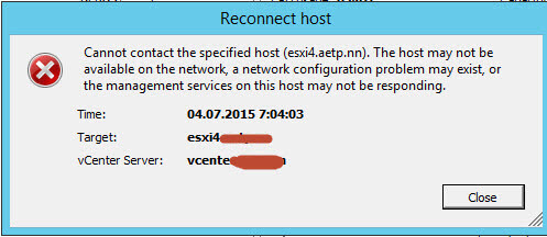 Ошибка cannot contact the specified host. The host may not be available on the network | Настройка серверов windows и linux