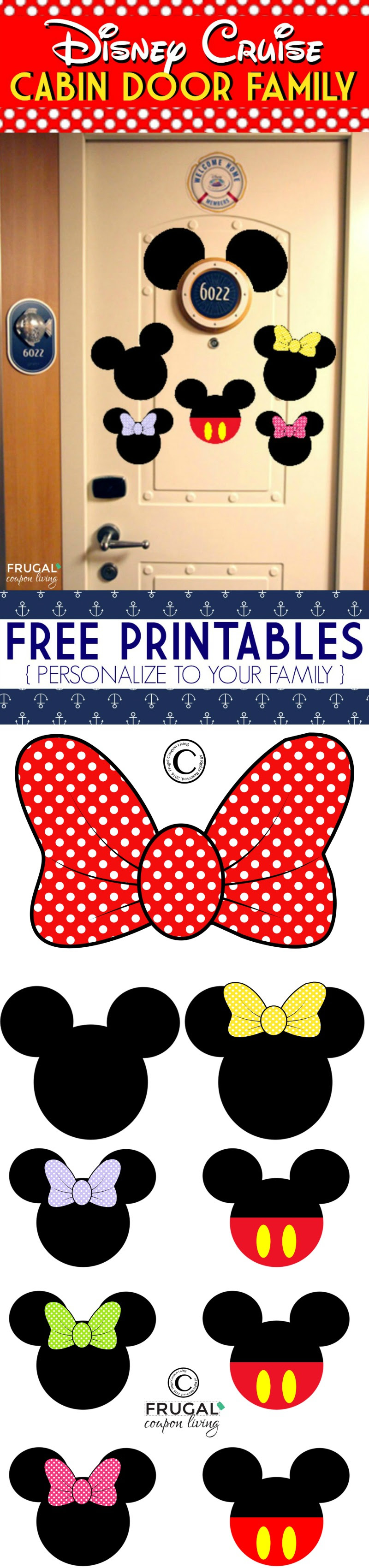Printable Door Decs & Resident Assistant Door Dec Templates