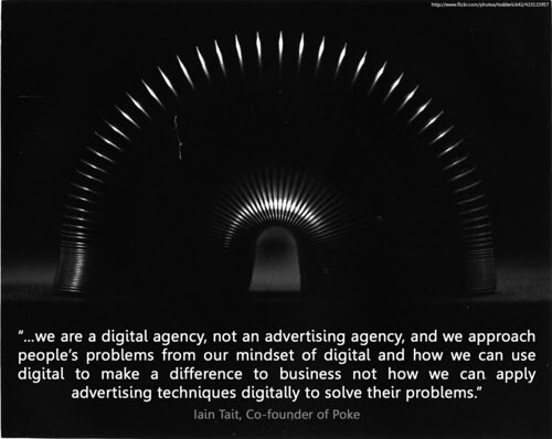we are not an advertising agency