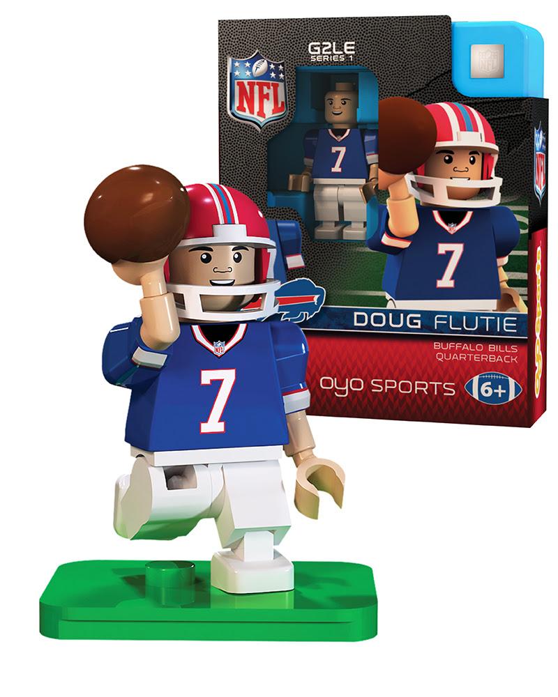 Buffalo Bills: Doug Flutie  OYO Sports  NFL Minifigures  Buildables