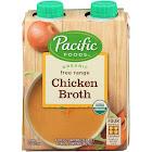 Pacific Foods Organic Free Range Chicken Broth - 4 pack, 8 fl oz cartons