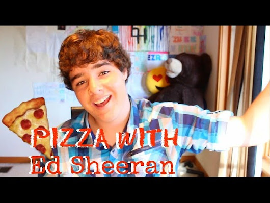 HAVING PIZZA WITH ED SHEERAN? #AskEzra 2 - Ezra Henderson