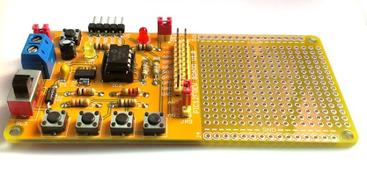 Rapid Development Board for PIC12F Series Microcontrollers | Embedded Lab